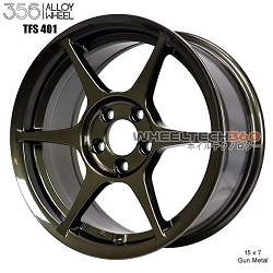 356 Racing Wheels TFS-401 (15x7, 5x100+35mm, 73mm Hub, Set of 4 Wheels)