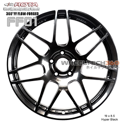 ROTA Wheel 360°FF Flow-Form FF01 (19x8.5, 5 x114.3+30mm, 73mm Hub)
