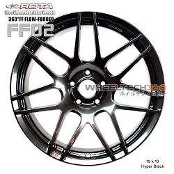 ROTA Wheel 360°FF Flow-Form FF02 (19x10, 5 x114.3+38mm, 73mm Hub)