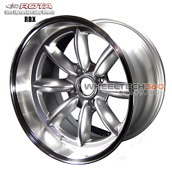 ROTA Wheel RBX (17x9.5, 4x114.3-19mm, 73mm Hub)