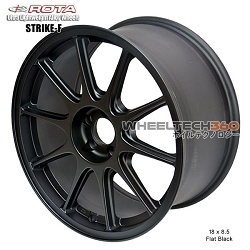 ROTA Wheel Strike (18x8.5, 5x100+44mm, 73mm Hub)